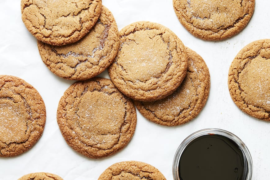 Molasses Cookies from www.whatsgabycooking.com (@whatsgabycookin)
