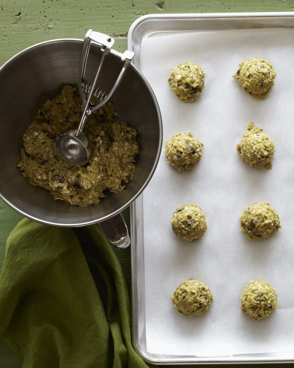 Avocado Chocolate Chip Cookies from Absolutely Avocados by Gaby Dalkin