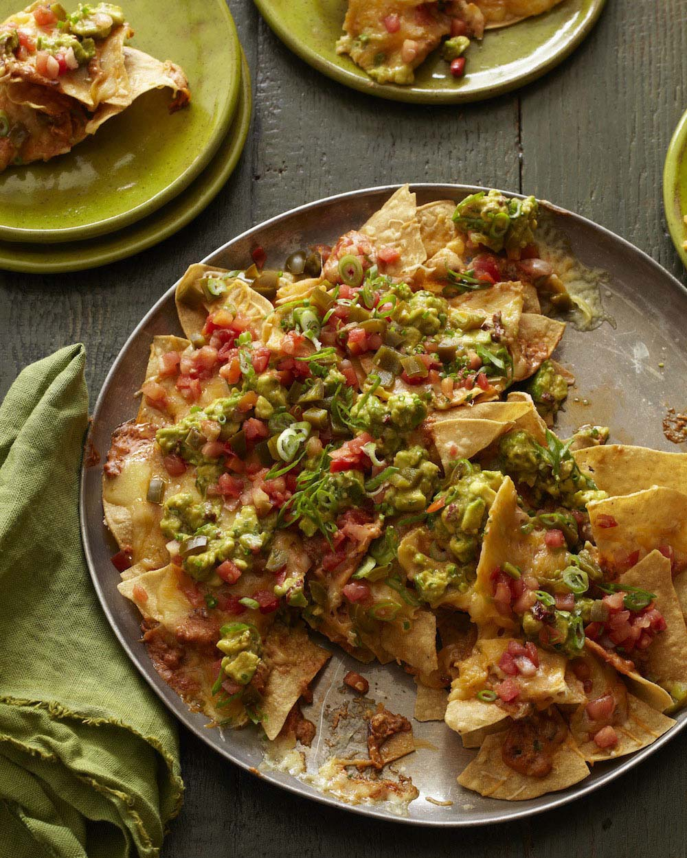 The Ultimate Avocado Nachos from Absolutely Avocados by Gaby Dalkin