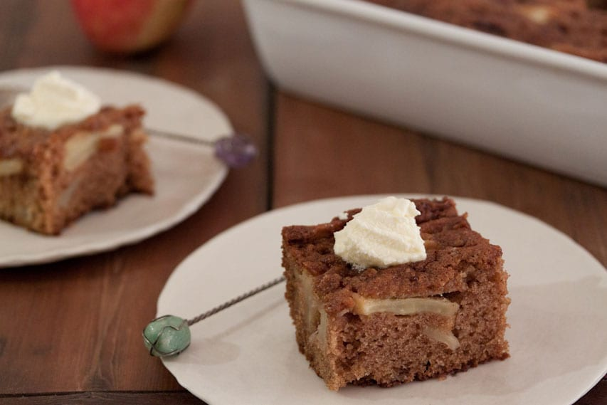 Fall Fest: Cinnamon Apple Cake