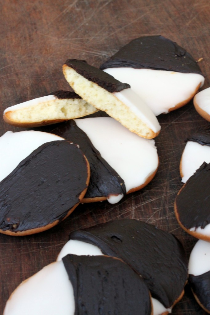 Black And White' Cookies Recipe — Dishmaps