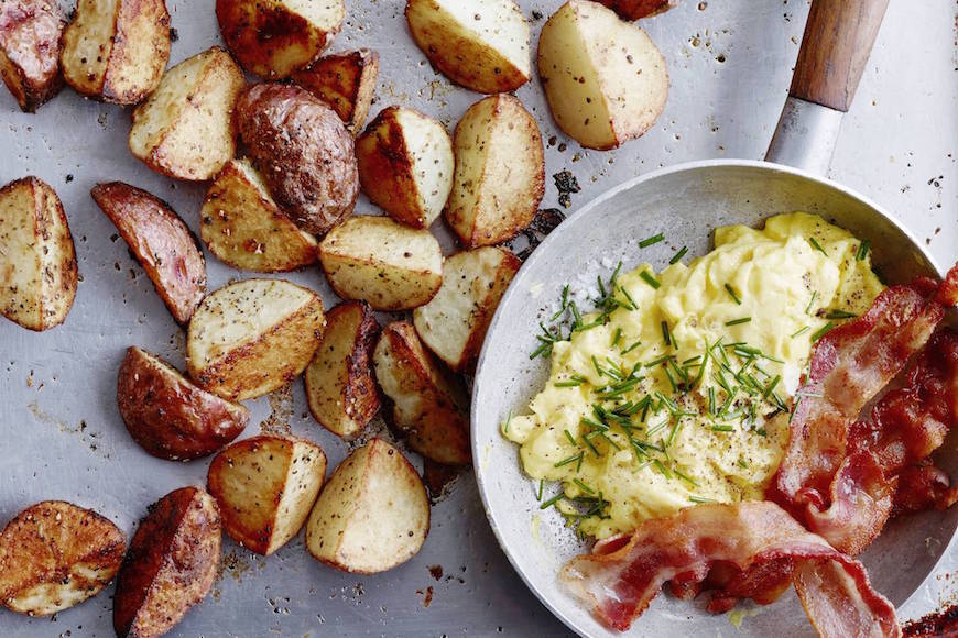 Breakfast Potatoes : What's Gaby Cooking