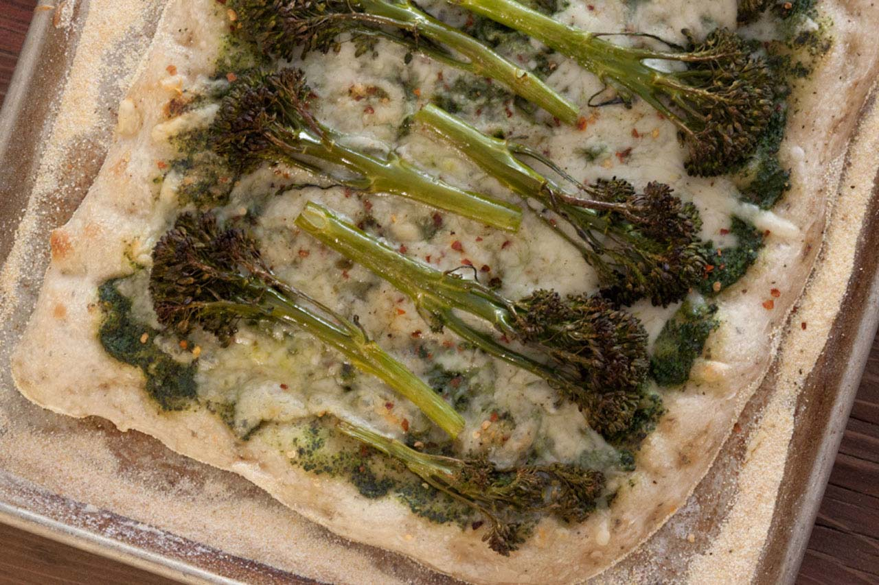 Broccolini Pizza