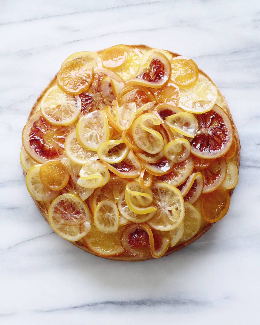 Candied Citrus Cake from www.whatsgabycooking.com (@whatsgabycookin)