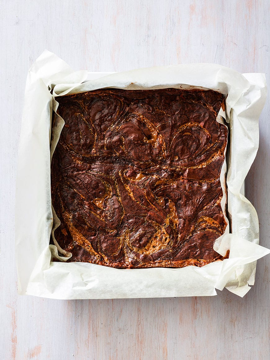 Crazy delicious Caramel Brownies