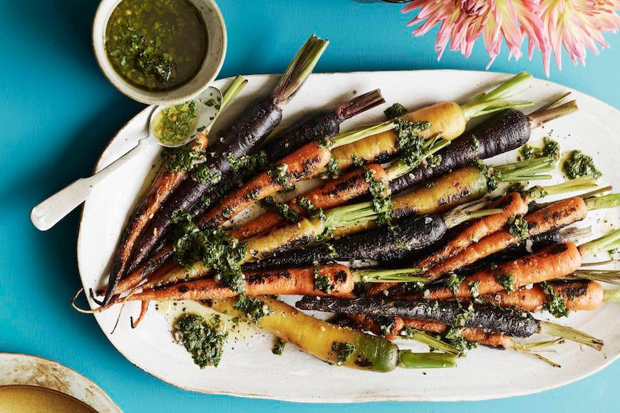 Charred Carrots with Herbs