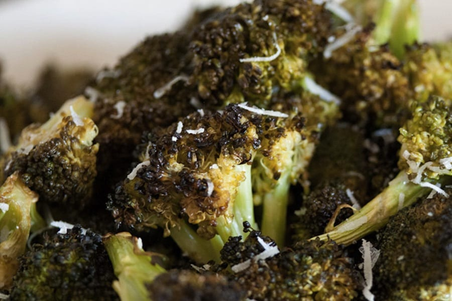 Charred Lemon Broccoli