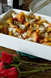 Cheesy-Chicken-Sausage-Pasta-Bake-from-What's-Gaby-Cooking