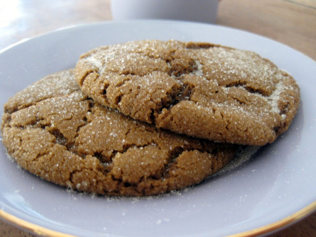 My mom makes the BEST molasses cookies! And this is her tried and true ...