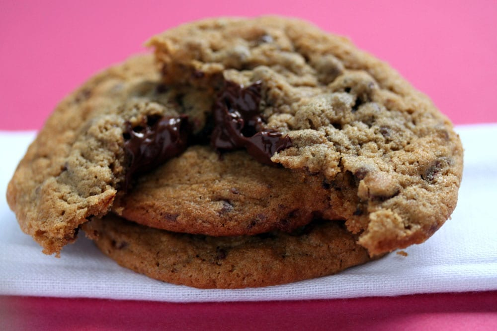 Chocolate Chip Stuffed Cookies
