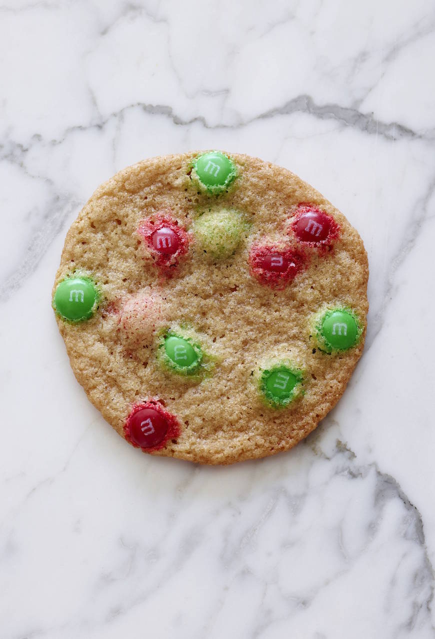 Christmas M M Cookies What S Gaby Cooking