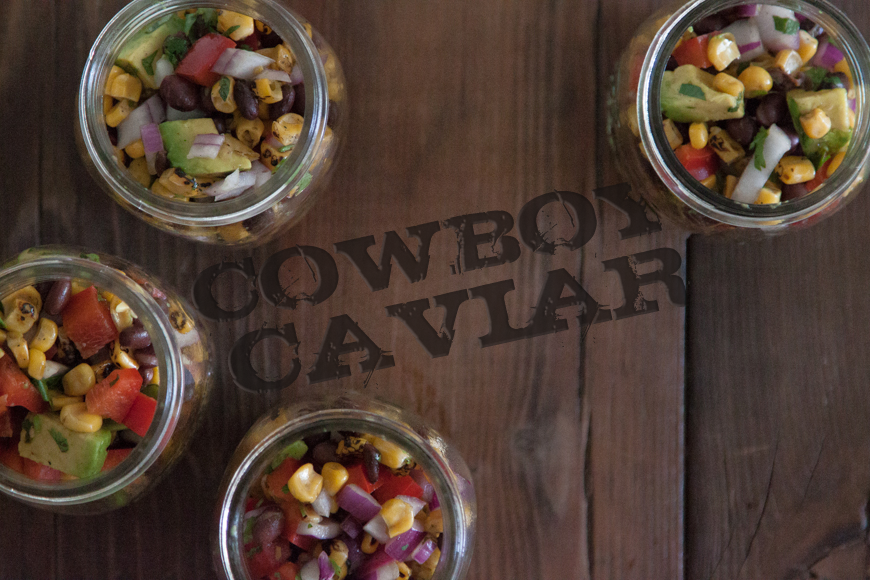 Cowboy Caviar from What's Gaby Cooking - a super easy summer side dish!