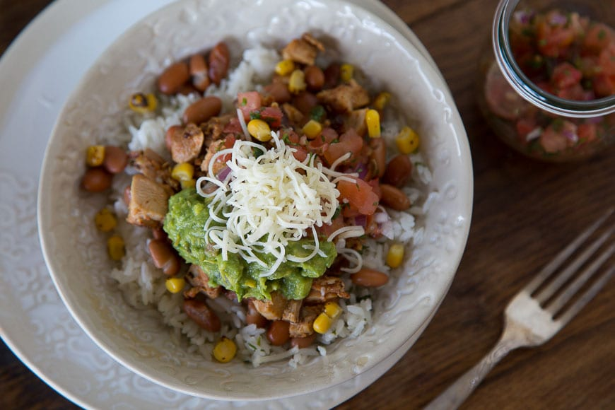 DIY Chipotle Burrito Bowl
