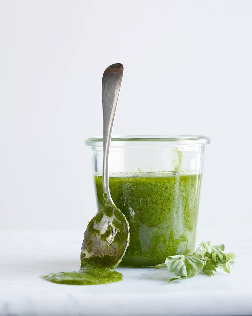 Easy Basil Vinaigrette