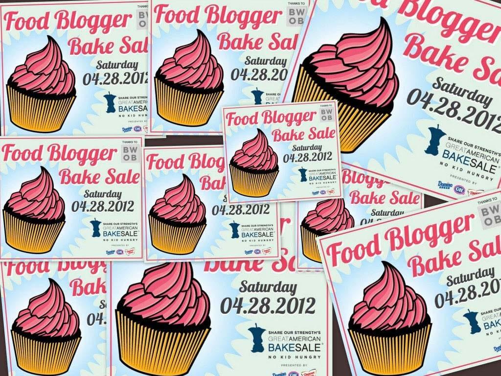 Food Sale: 2012 Food Blogger Bake Sale