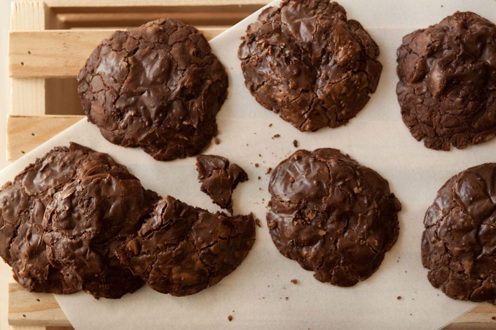 Flourless-Chocolate-Chip-Cookies