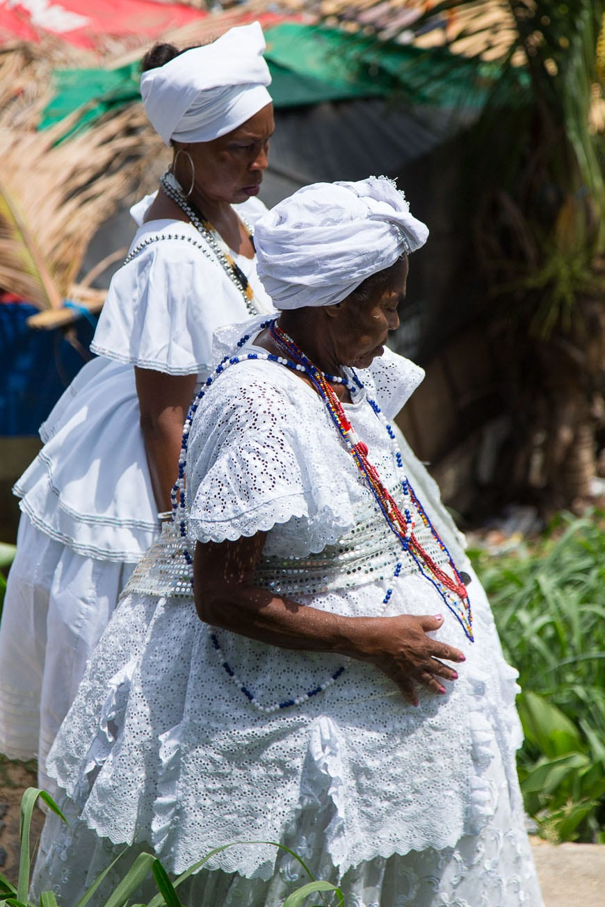 Traditional Outfits in Salvador Brazil