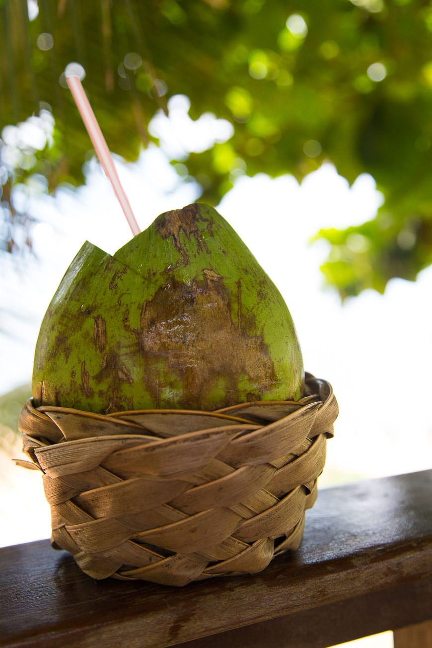 Fresh Coconuts in Salvador Brazil