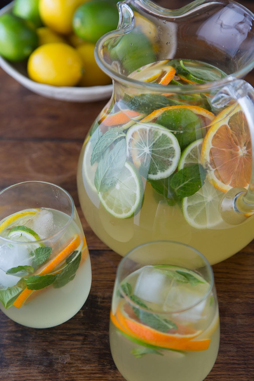 ... like to grow my own sangria! Citrus Pineapple Sangria to be exact