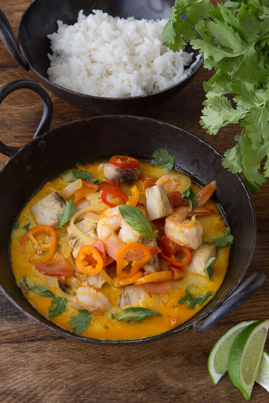 Moqueca (Brazilian Fish Stew) - What's Gaby Cooking