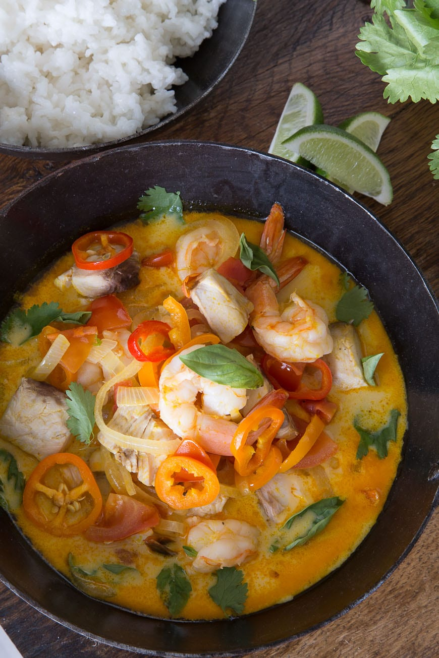 ... sharing my all time FAVORITE Brazilian inspired recipe… Moqueca