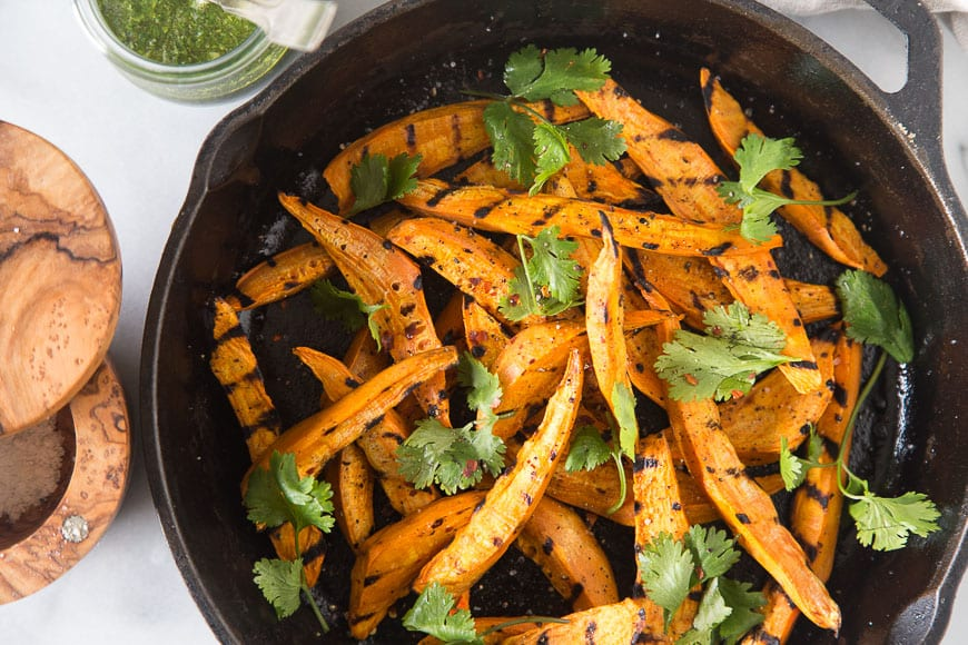Grilled Sweetpotato Wedges