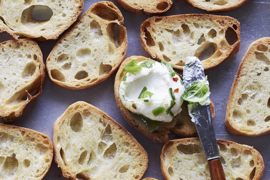 Herbed Goat Cheese Balls - What's Gaby Cooking