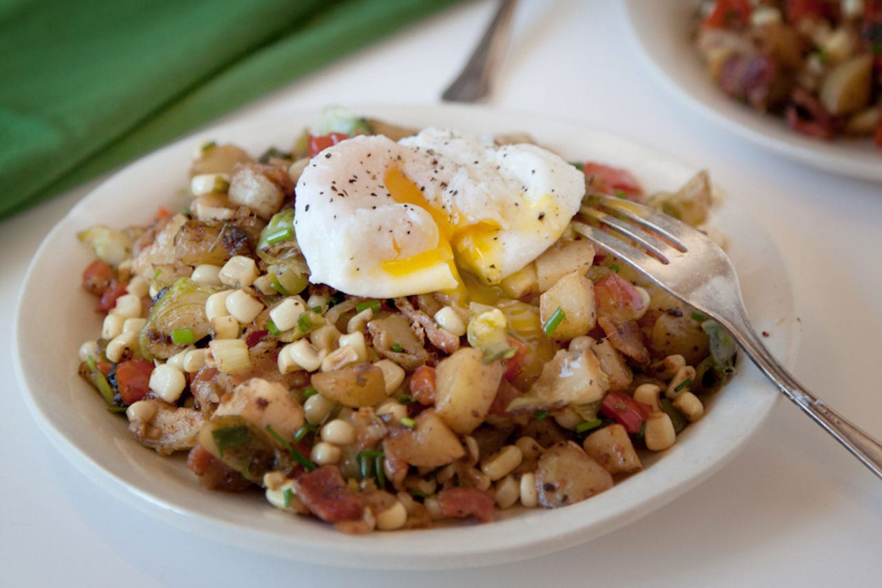 Veggie Bacon Hash