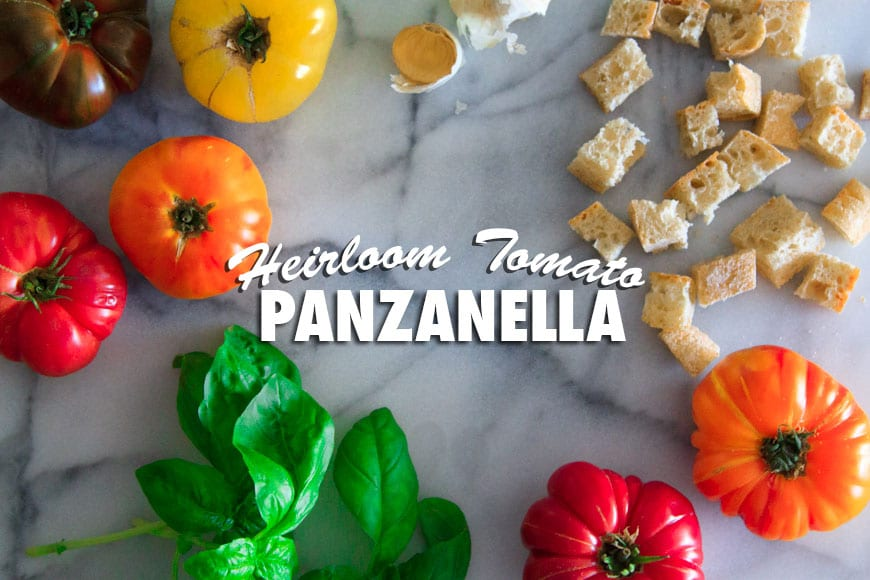 Heirloom Tomato Panzanella | What's Gaby Cooking