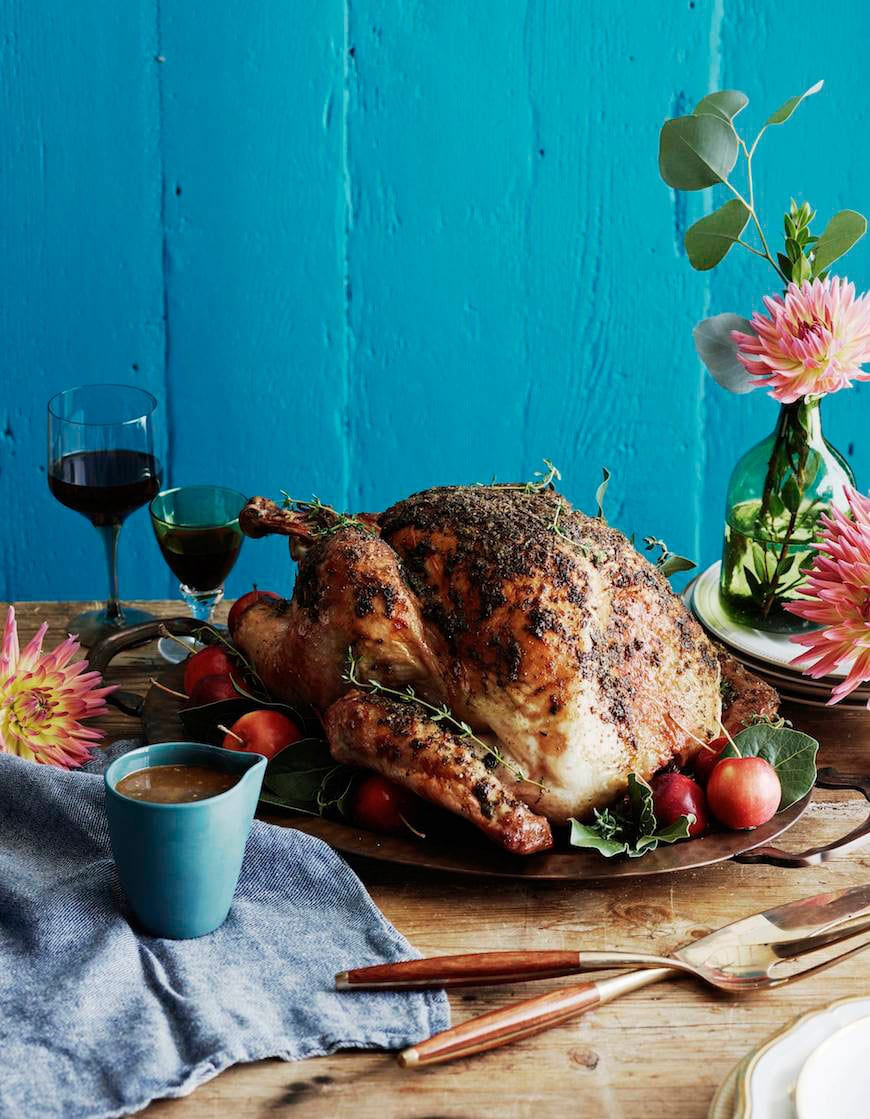 deliciously moist Herb Roasted Turkey that's surprising easy to make ...