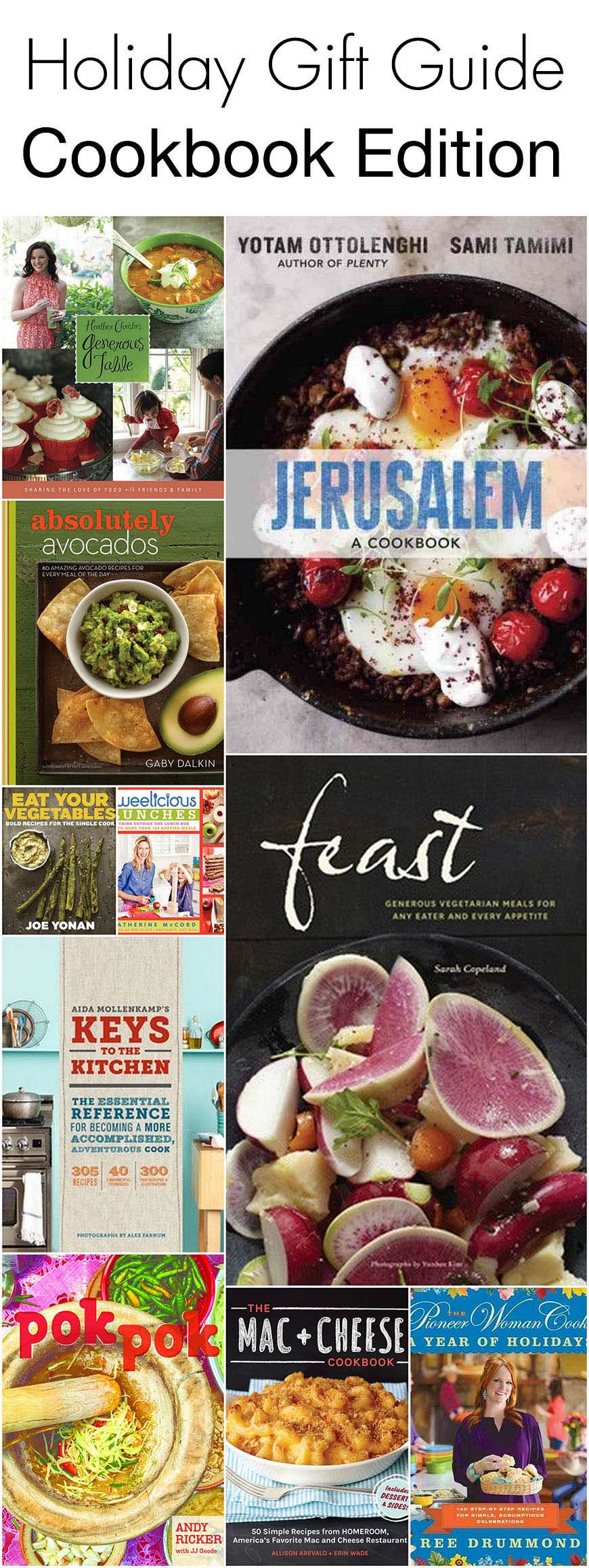 Holiday Gift Guide - Cookbook Edition!