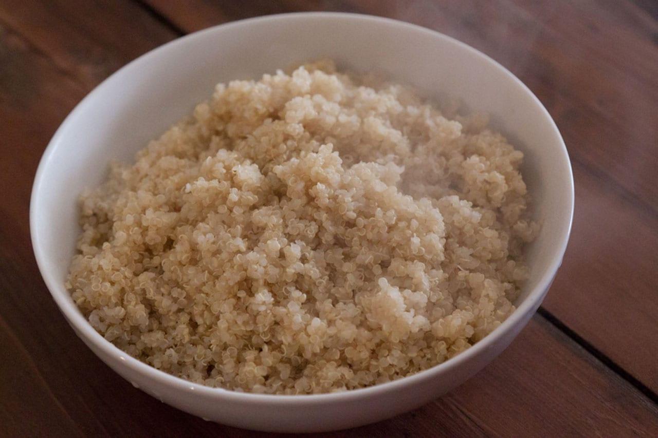 Pesto Caprese Quinoa Salad Recipe
