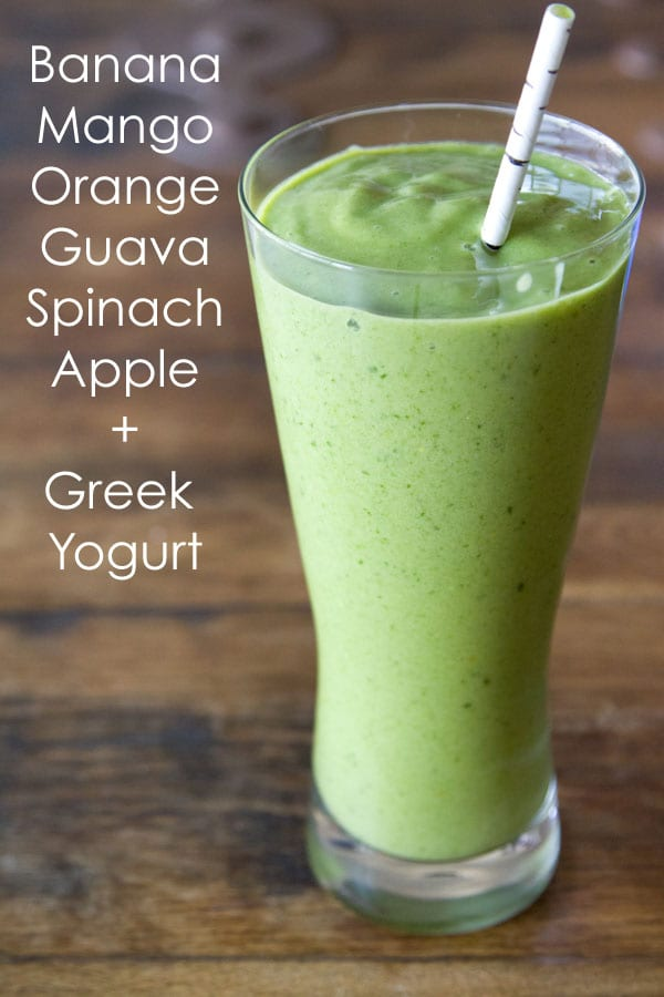 Green Machine Smoothie from www.whatsgabycooking.com