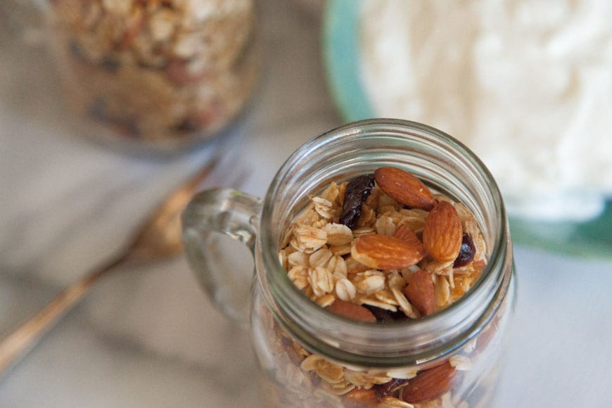 Coconut Almond Granola