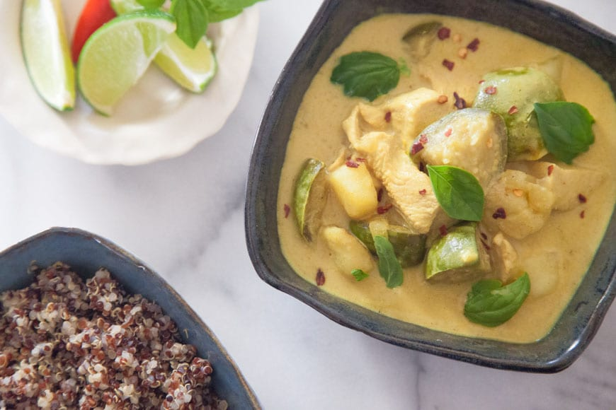 Coconut Chicken Curry - What's Gaby Cooking