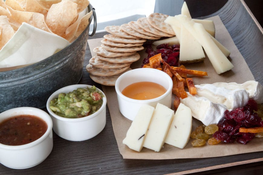Cheese Platters  at the Ojai Valley Inn & Spa