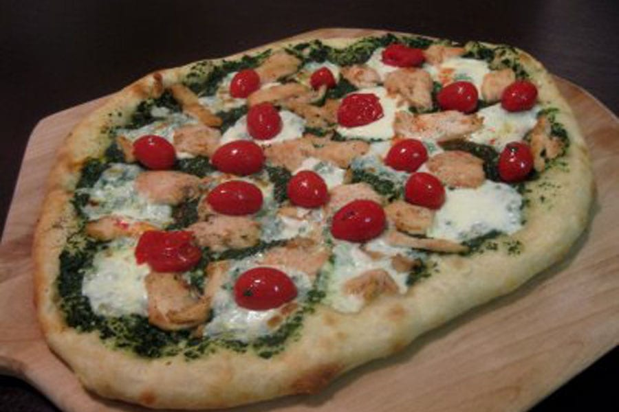 Cherry Tomato Pizza - What's Gaby Cooking
