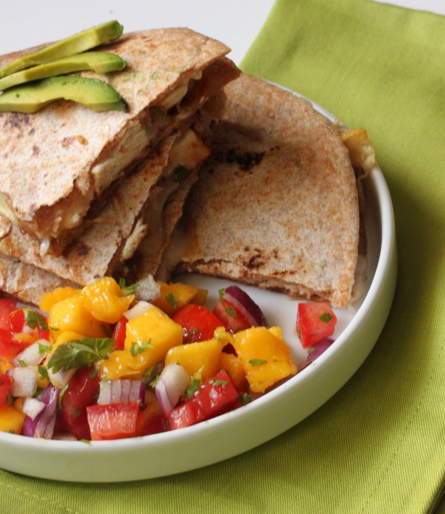 Jamacian Jerk Chicken Quesadilla