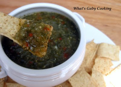 Recipe for Tomatillo Salsa