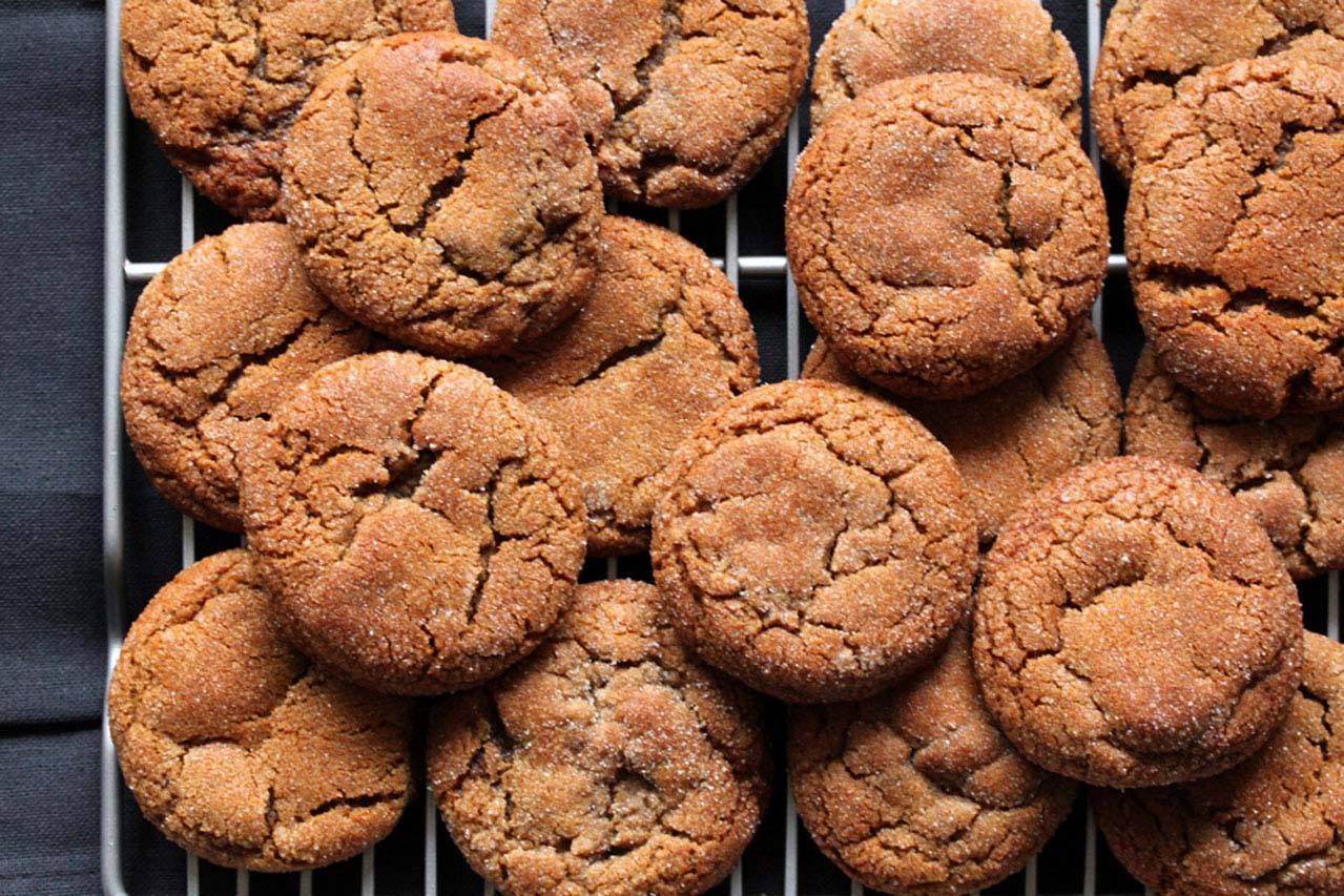 Recipe Gluten Free Molasses Cookies