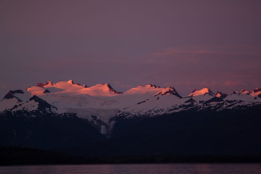 National Geographic Lindblad Alaskan Expedition Dusk