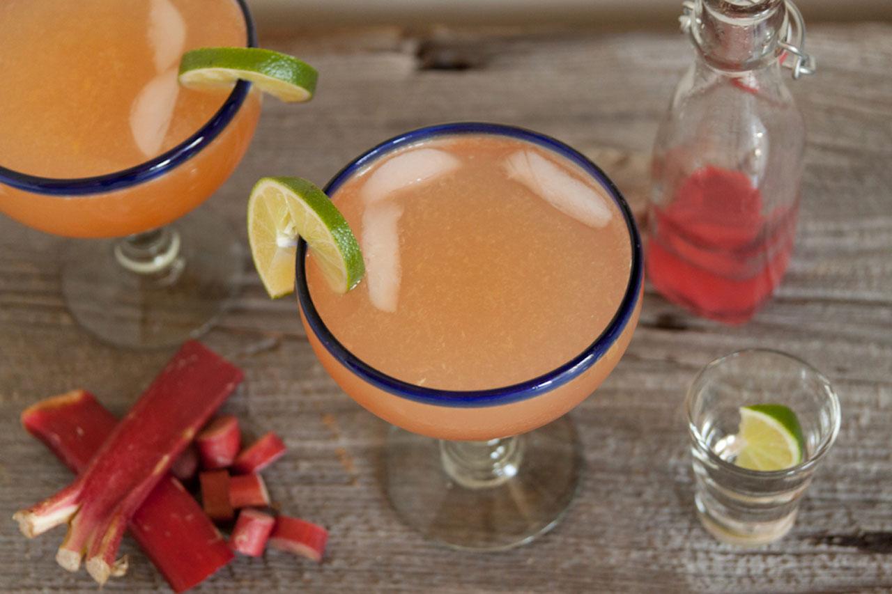 Spring Fling: Rhubarb Margarita