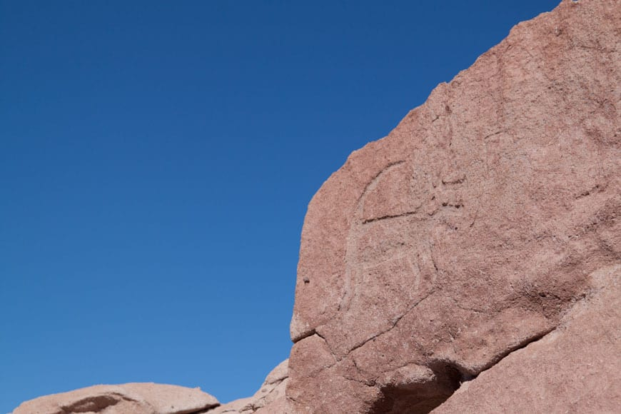 Petroglyphs, Chile