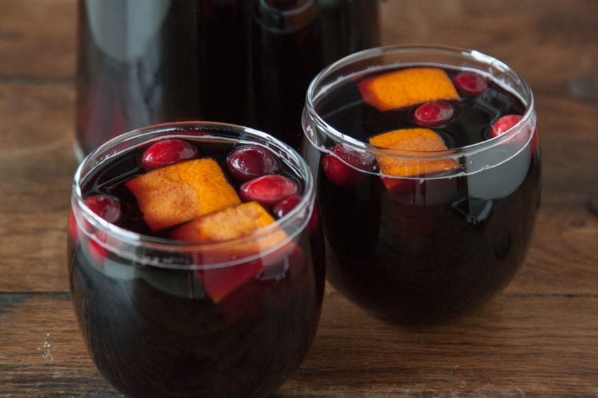 Cranberry Sangria | Perfect for Thanksgiving