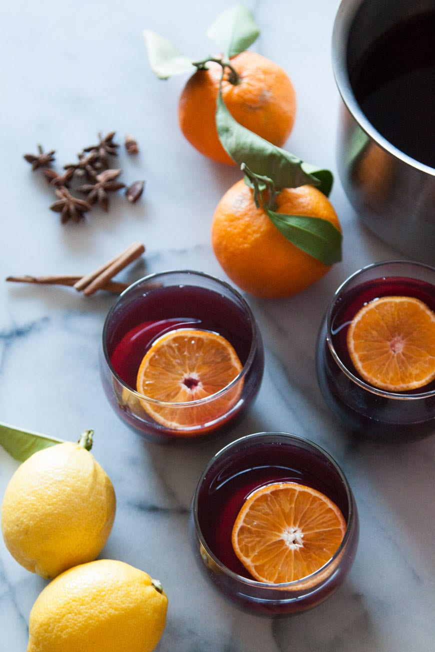 Holiday Spiced Wine