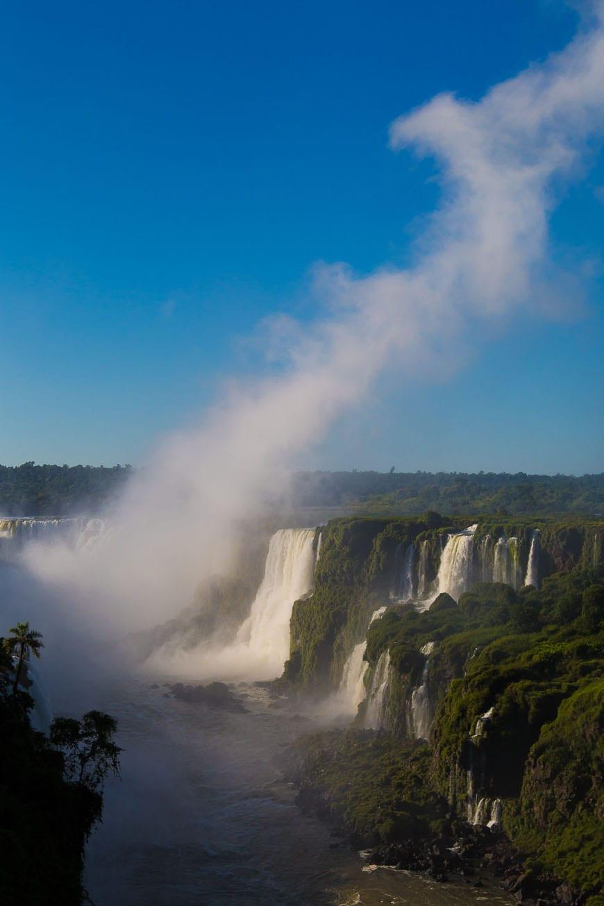 Iguassu Falls, Devils Throat