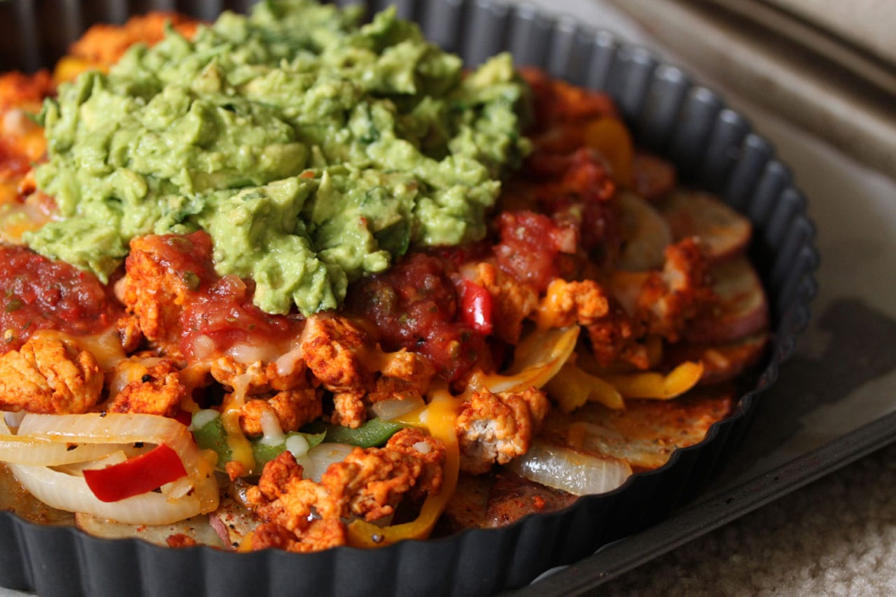 Irish Nachos with Guacamole