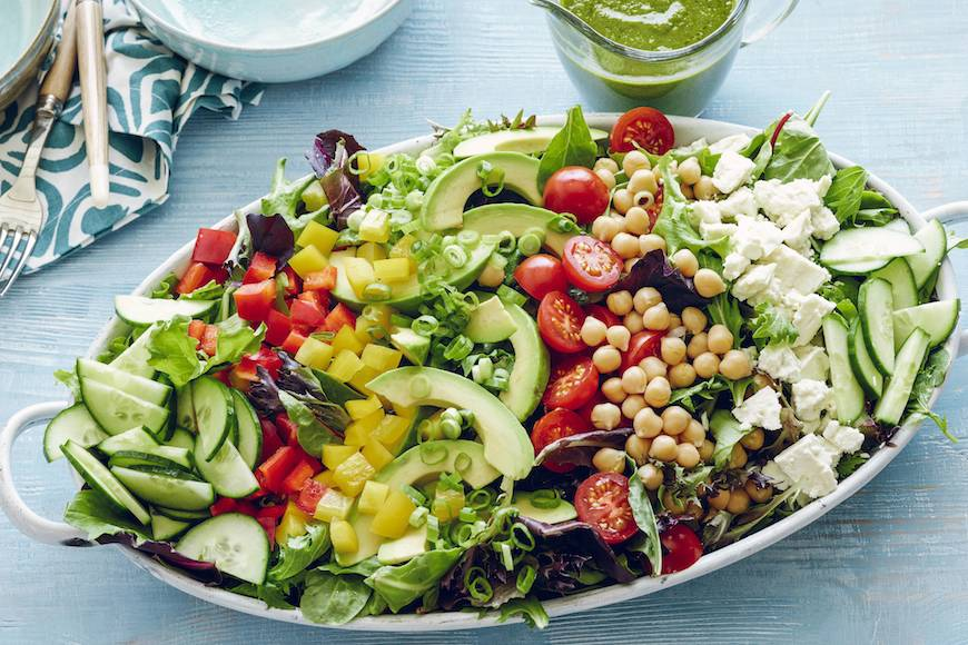 Loaded Power Salad :: What's Gaby Cooking