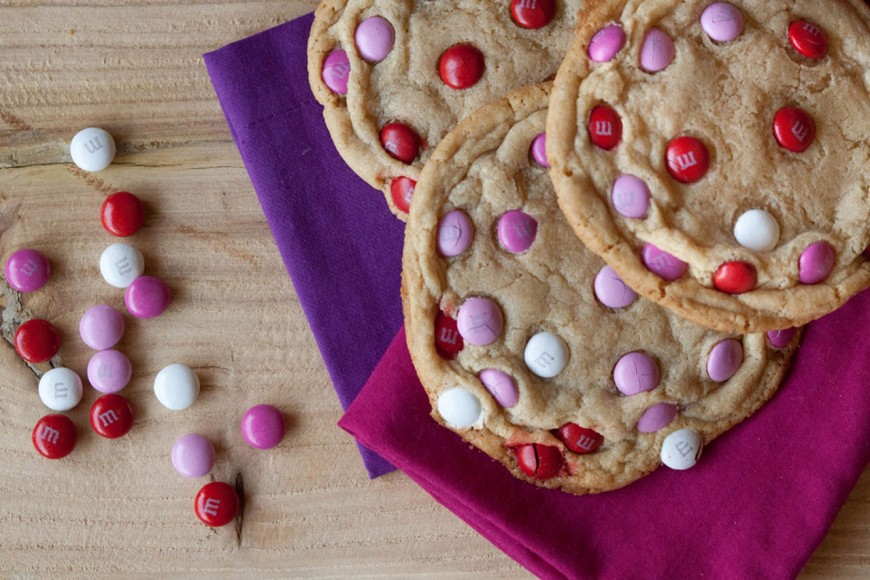 Giant MM Cookies / Desserts for Chocolate Lovers from www.whatsgabycooking.com (@whatsgabycookin)