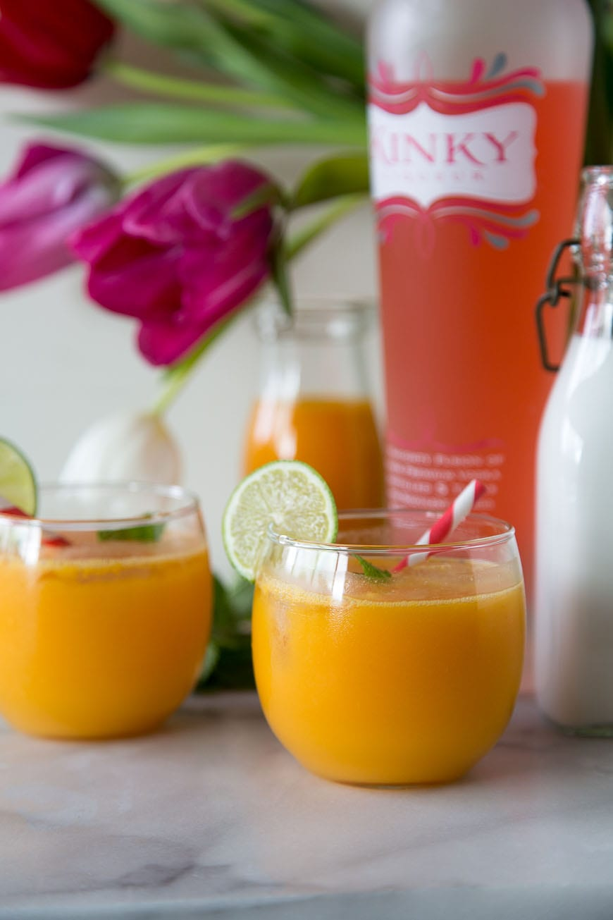 Mango Splash Cocktail